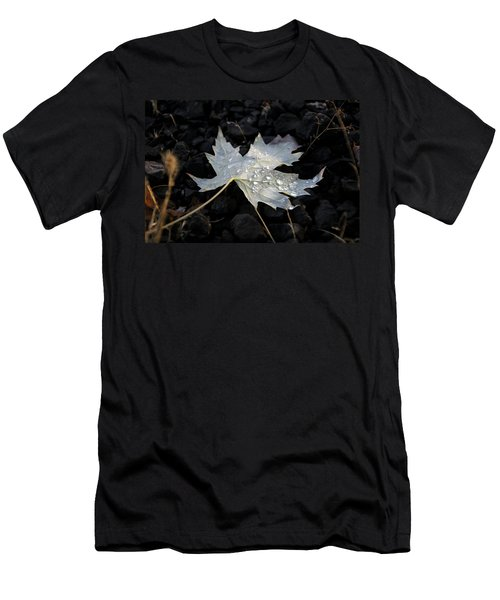 Autumn Rain Men's T-Shirt (Slim Fit) by Katie Wing Vigil