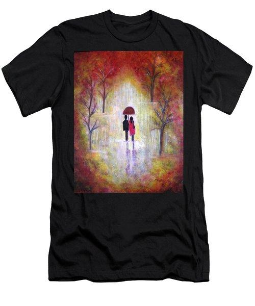 Autumn Romance Men's T-Shirt (Athletic Fit)