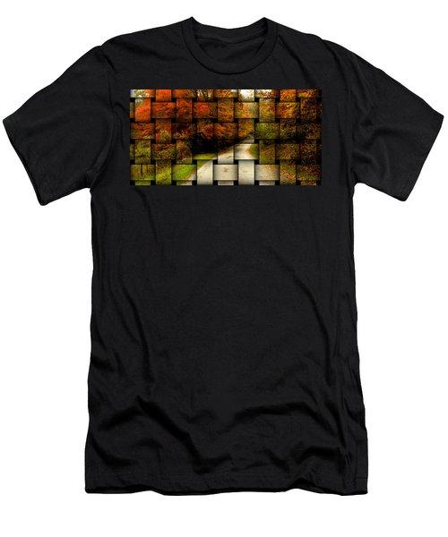 Autumn Weave Men's T-Shirt (Athletic Fit)