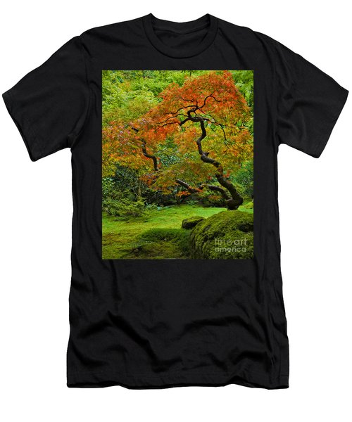 Autumn's Paintbrush Men's T-Shirt (Athletic Fit)