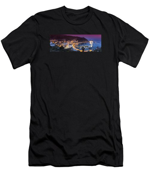 Avalon Sunset Men's T-Shirt (Athletic Fit)