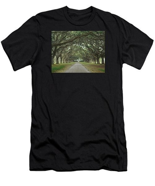 147706-avenue Of The Oaks  Men's T-Shirt (Athletic Fit)