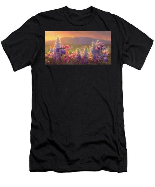 Awakening - Mt Susitna Spring - Sleeping Lady Men's T-Shirt (Athletic Fit)