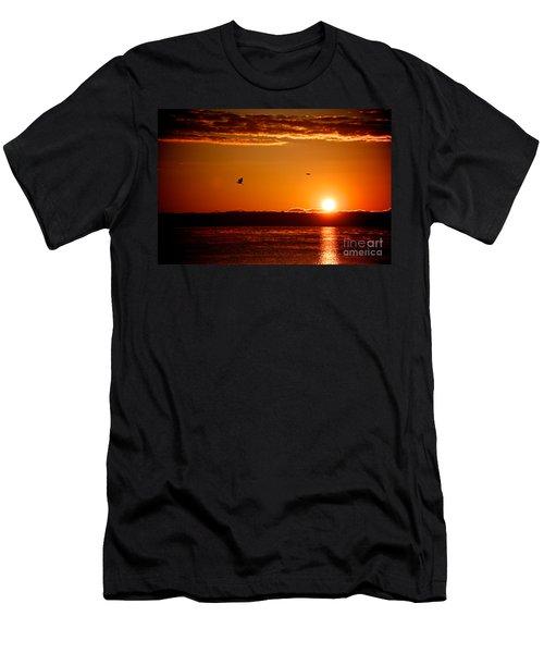 Awakening Sun Men's T-Shirt (Athletic Fit)