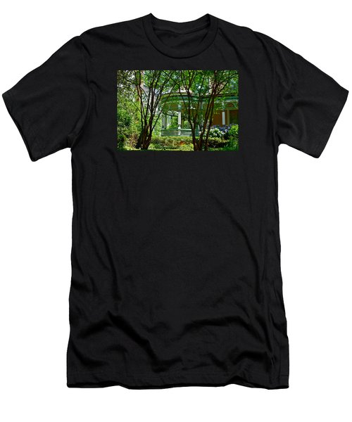 Awesome Victorian Porch Men's T-Shirt (Athletic Fit)