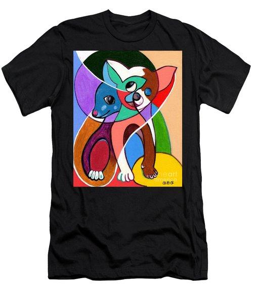 Ay Chihuahua Men's T-Shirt (Athletic Fit)