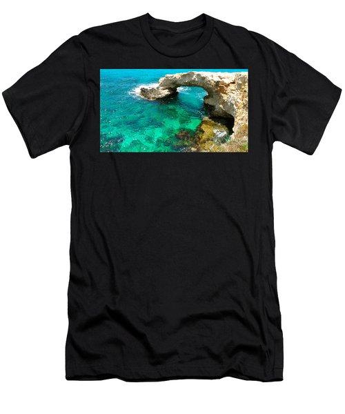 Ayia Napa In Cyprus Men's T-Shirt (Athletic Fit)