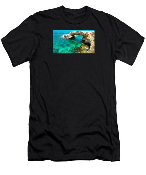 Ayia Napa In Cyprus Men's T-Shirt (Athletic Fit)
