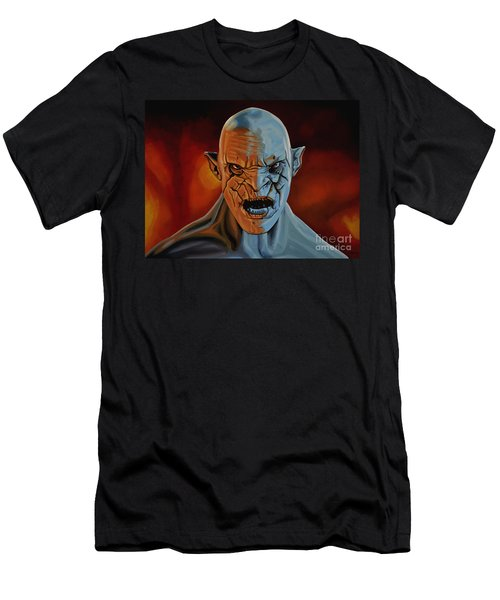 Azog The Orc Painting Men's T-Shirt (Athletic Fit)