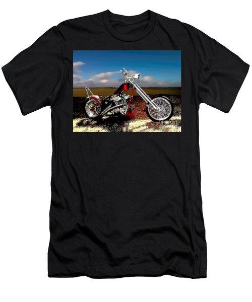 Aztec Rest Stop Men's T-Shirt (Athletic Fit)