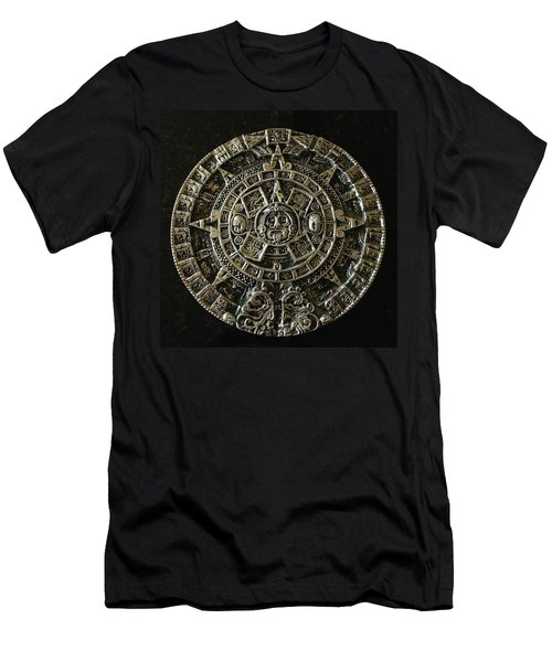 Aztec Men's T-Shirt (Slim Fit) by Julio Lopez