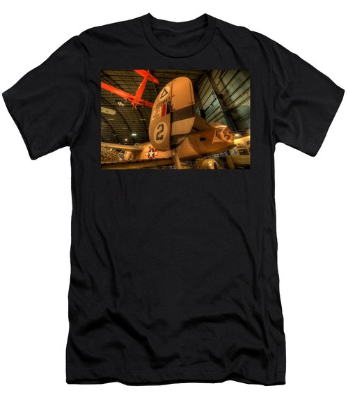 B-24 Liberator Tail Men's T-Shirt (Athletic Fit)