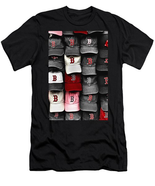 B For Bosox Men's T-Shirt (Slim Fit) by Joann Vitali