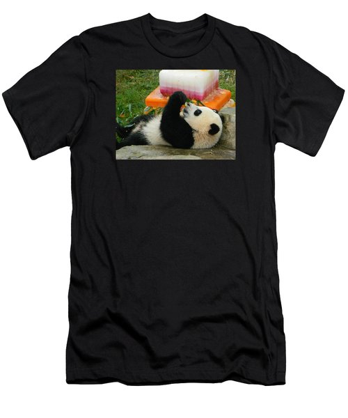Baby Bao Bao's First Birthday Men's T-Shirt (Slim Fit) by Emmy Marie Vickers