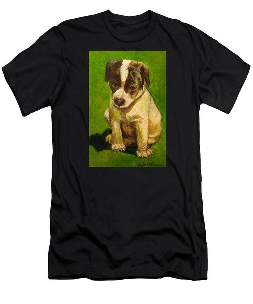 Baby Jack Russel Men's T-Shirt (Athletic Fit)