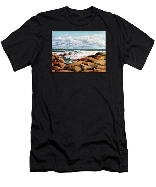 Back Shore Gloucester Men's T-Shirt (Athletic Fit)