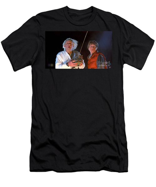 Back To The Future Men's T-Shirt (Athletic Fit)