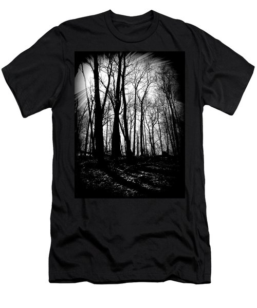 Backdunes In April Men's T-Shirt (Athletic Fit)