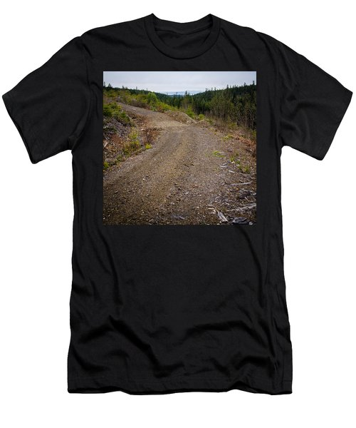 4x4 Logging Road To Adventure Men's T-Shirt (Athletic Fit)