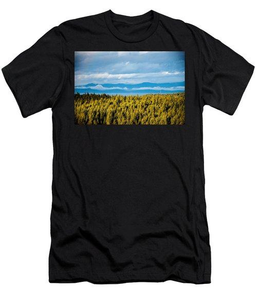 Backroad Ocean View Men's T-Shirt (Athletic Fit)