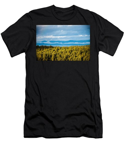 Backroad Ocean View Men's T-Shirt (Athletic Fit)