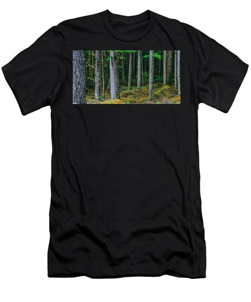Inside View Backroad Forest Men's T-Shirt (Athletic Fit)