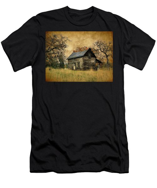 Backwoods Cabin Men's T-Shirt (Athletic Fit)