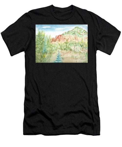 Backyard Sedona Men's T-Shirt (Athletic Fit)