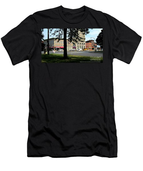 Bagg's Square West Men's T-Shirt (Slim Fit) by Peter Gumaer Ogden