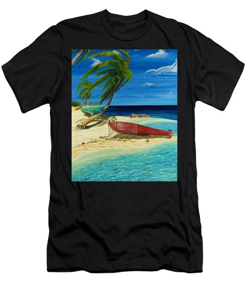 Bahama Beach Men's T-Shirt (Athletic Fit)