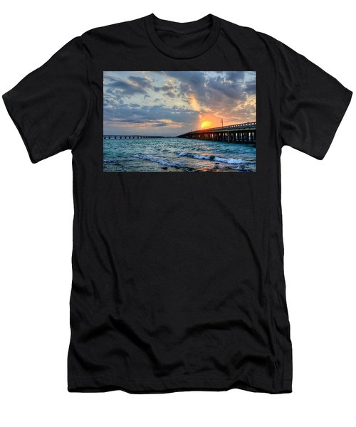 Bahia Honda Sunset Men's T-Shirt (Athletic Fit)