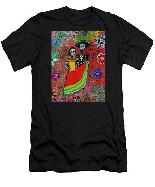 Bailar Couple Men's T-Shirt (Athletic Fit)