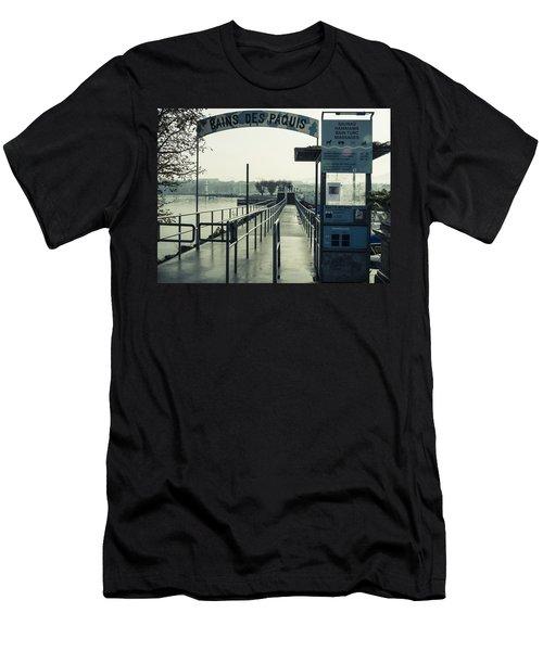 Bains Des Paquis Men's T-Shirt (Athletic Fit)