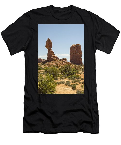 Balancing Rock In Arches Men's T-Shirt (Athletic Fit)