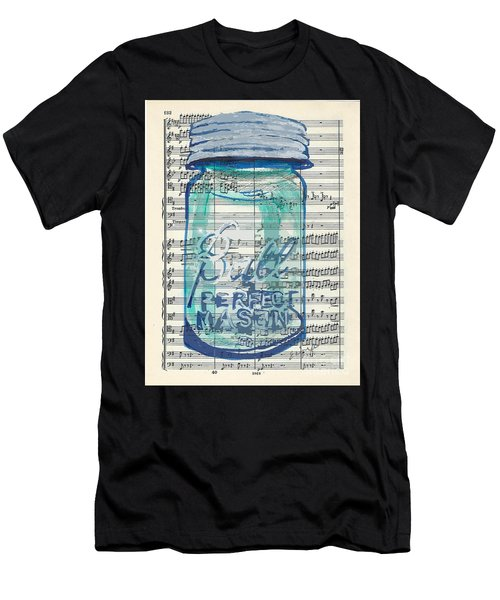 Ball Jar Classical  #132 Men's T-Shirt (Athletic Fit)