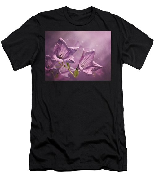 Balloon Flowers Men's T-Shirt (Athletic Fit)