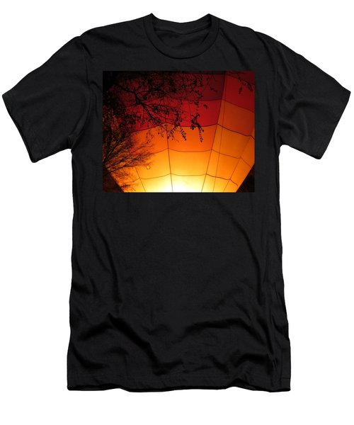 Balloon Glow Men's T-Shirt (Slim Fit) by Laurel Powell