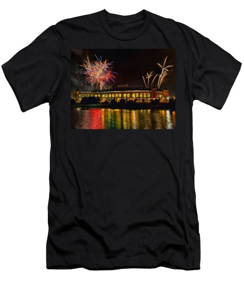 Ballpark Fireworks Men's T-Shirt (Slim Fit)