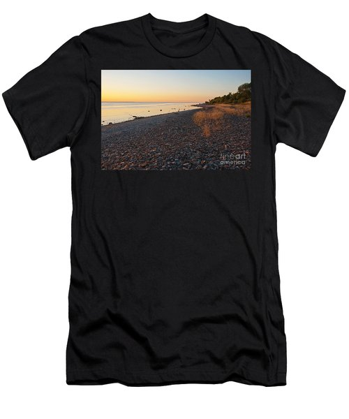 Baltic Sea Coast Men's T-Shirt (Slim Fit) by Kennerth and Birgitta Kullman