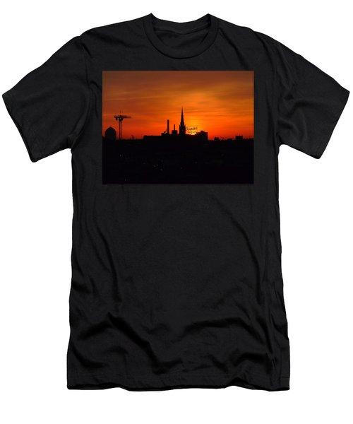 Baltimore Dawn Men's T-Shirt (Slim Fit) by Robert Geary