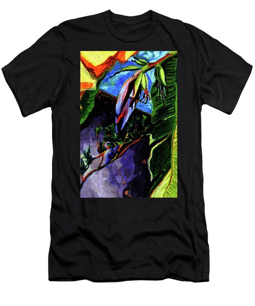 Banana Blossom  Men's T-Shirt (Athletic Fit)