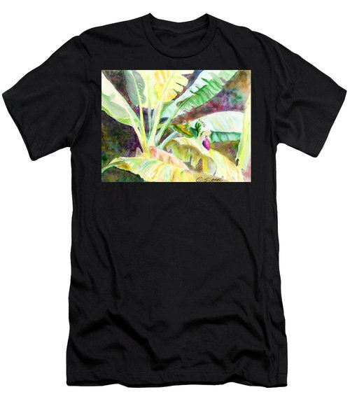Banana Tree Men's T-Shirt (Athletic Fit)