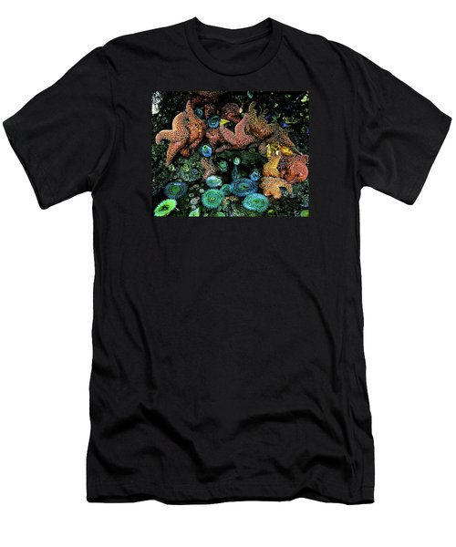 Bandon Beach Oregon Pacific Tidal Pool Men's T-Shirt (Athletic Fit)