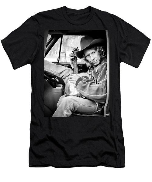 Banjo Man Men's T-Shirt (Athletic Fit)