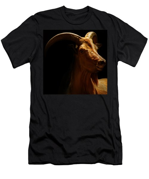 Barbary Sheep Portrait Men's T-Shirt (Athletic Fit)
