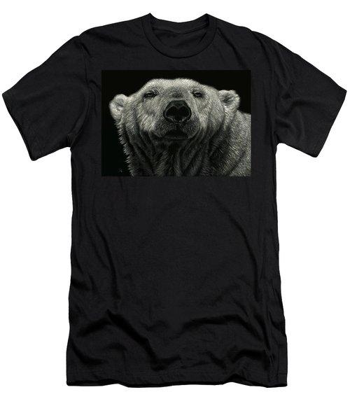 Barely Awake Men's T-Shirt (Slim Fit) by Sandra LaFaut