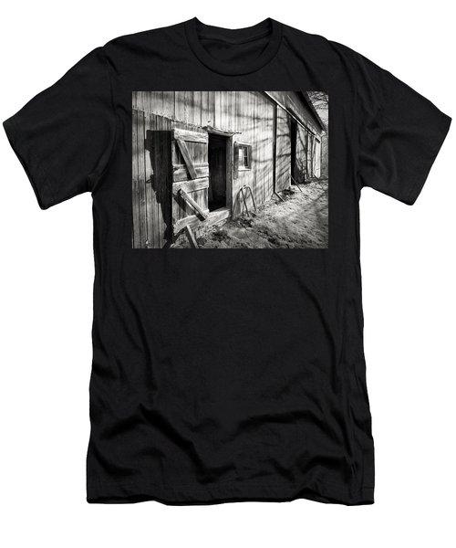 Barn Doors Men's T-Shirt (Athletic Fit)