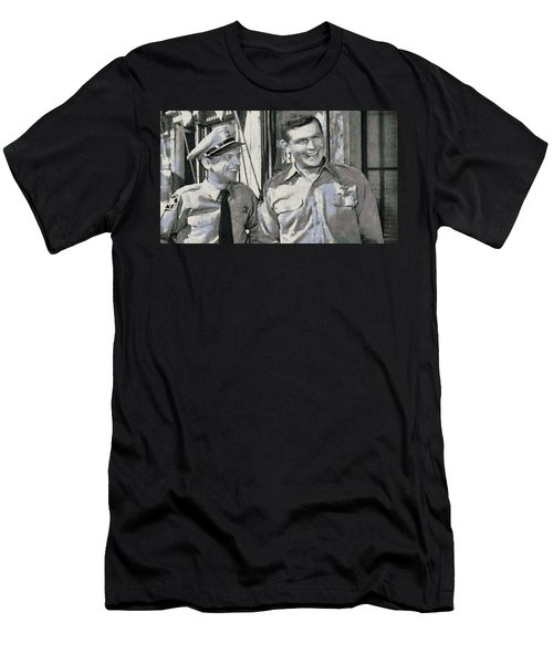 Barney Fife And Andy Taylor Men's T-Shirt (Athletic Fit)