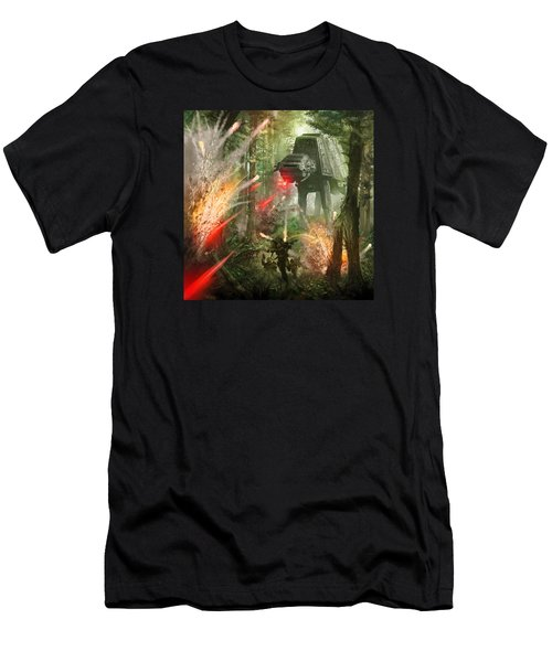 Barrage Attack Men's T-Shirt (Athletic Fit)