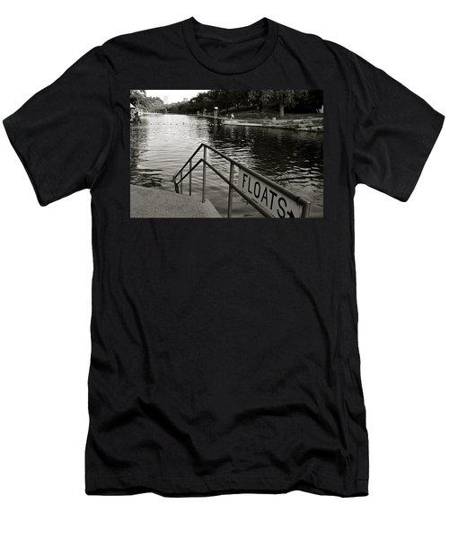 Barton Springs Pool In Austin Men's T-Shirt (Athletic Fit)